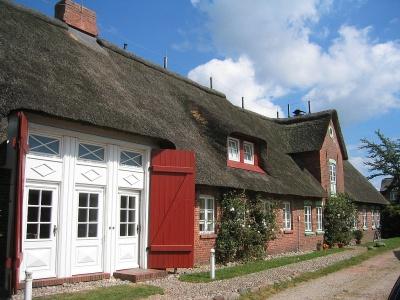 Idyllisches Ferienhausteil  in Alkersum